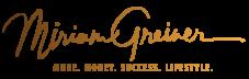 Miriam Greiner Logo